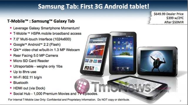 samsung-gtab-tmobile Samsung Galaxy Tab starting to sound expensive