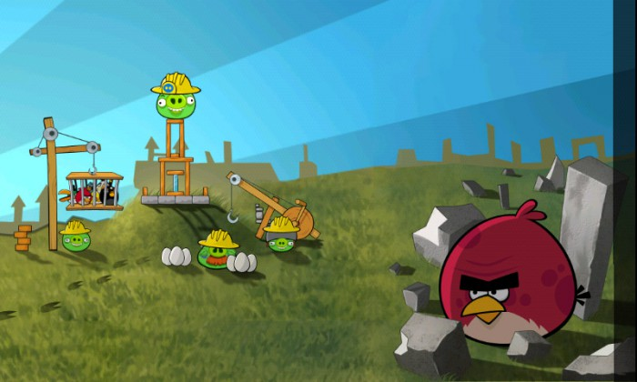 angry-birds-45more-700x420 Angry Birds updated on Android: 45 more feather flinging levels