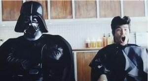 darthvader-nttdocomo Galaxy S promoted by Darth Vader in Japan
