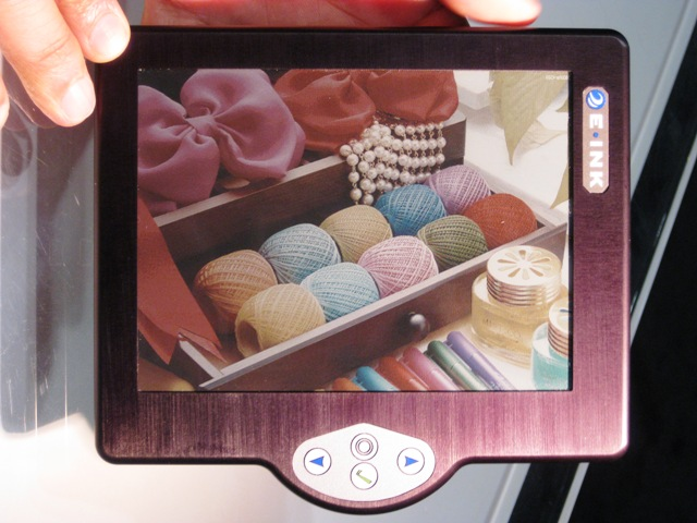 e-ink-color-reader-1 Hanvon e-book reader will be first with color e-ink technology