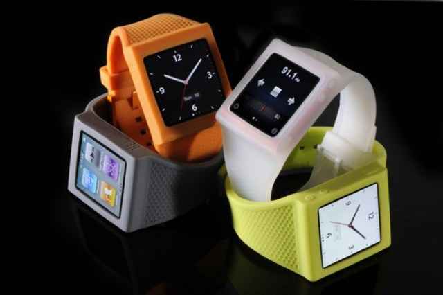 hex-nano-add-1-700x466 iPod nano watch done right with silicone Hex strap