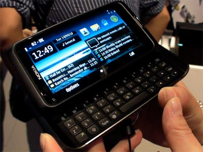 nokia-e7  Nokia E7 Symbian^3 smartphone ships next month