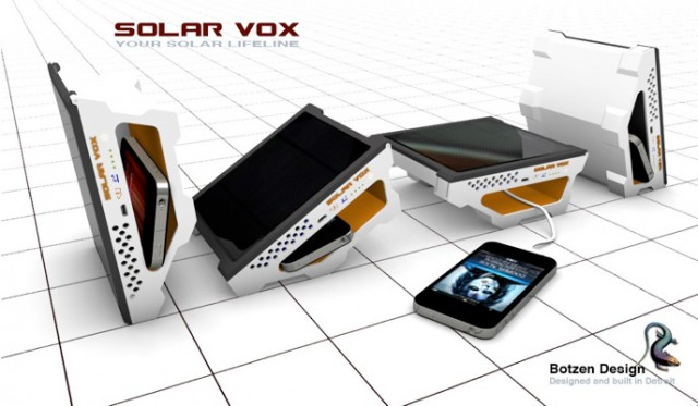 4-angles2-640x373  Solar Vox solar USB charger concept tilts to face the sun