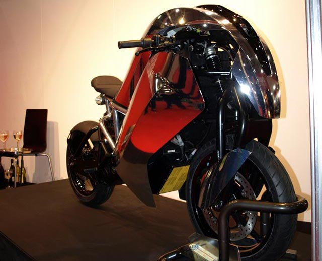 Saietta-12 Agility Global Saietta electric sports bike goes 0-60 in under 4 seconds