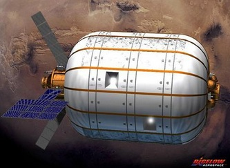 bigelow International Space Station to get a bouncy-castle addition