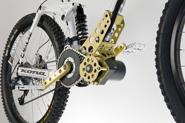 ego-kits EGO-Kit Mountain Bike Electric Motor Kicks Out 2400W, 70 Km/h
