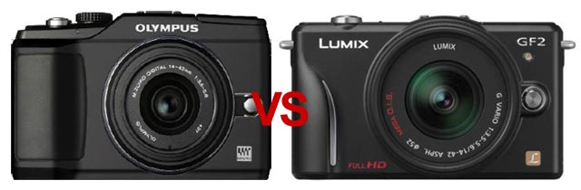 pana-vs-oly Panasonic GF2 vs. Olympus E-PL2: Which micro four-thirds is for you?
