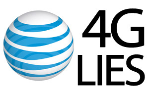 4glies AT&T 4G A Network Of Lies
