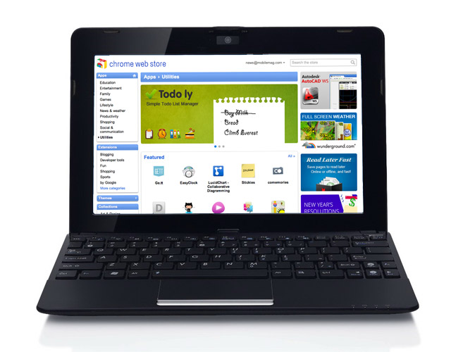 asus-chrome-netbook Asus Planning $200 Netbook with Chrome OS or Android