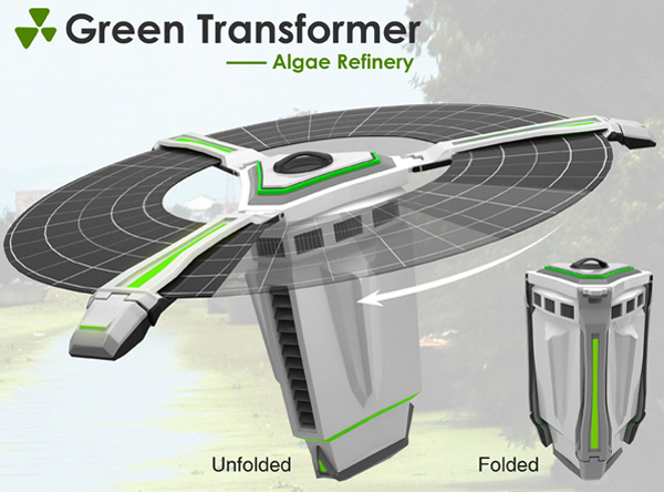 green_transformer Green Refinery Turns Scum into Savings