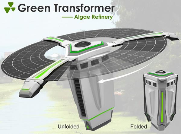 green_transformer Green Refinery Turns Scum into Savings