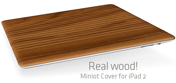 miniot_ipad_2_wood_smart_cover_1 Apple iPad 2 Case Gives You A Woody