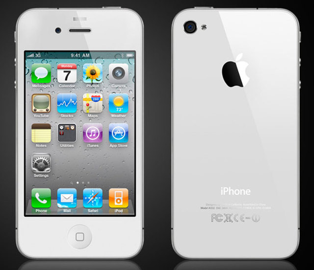 white-iphone-4 No NFC for Apple iPhone 5, Wait for iPhone 6