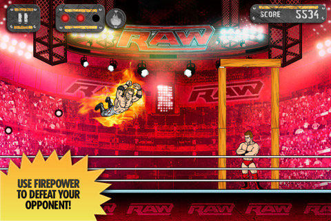 wwe-smackdown John Cena Is One Angry Bird in WWE Superstar Slingshot