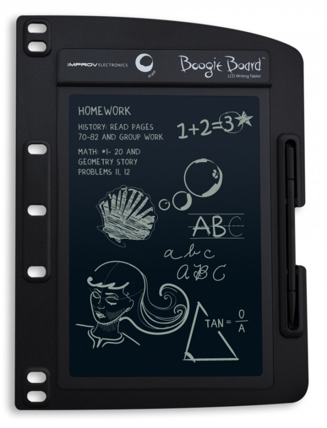 Boogie-Board-8-for-Binders-front-640x837 New Boogie Board LCD Writing Tablets Announced