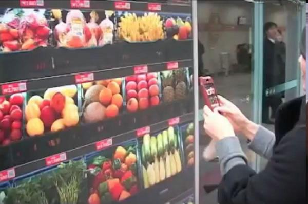 Virtual-grocery-shopping Virtual grocery shopping now at South Korean subway stations