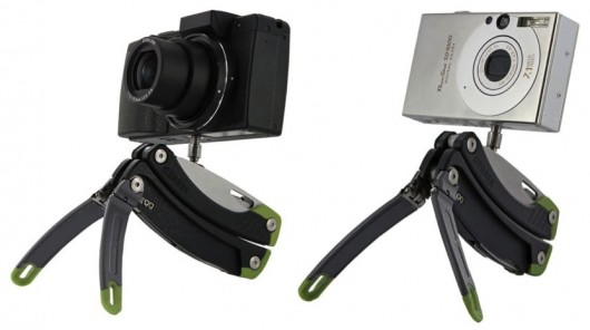 gerbersteady-2  Gerber Steady multitool has a built-in tripod for cameras
