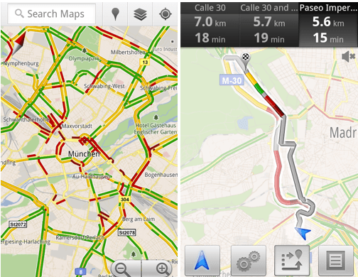 google_maps_eu_traffic Updated live traffic for 13 European countries with Google Maps