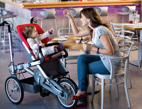 Picture-21 Taga bike turns into stroller in 20 seconds