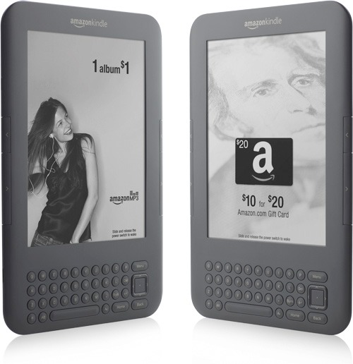 kindle-ads New Kindle 3G replaces fees with ads