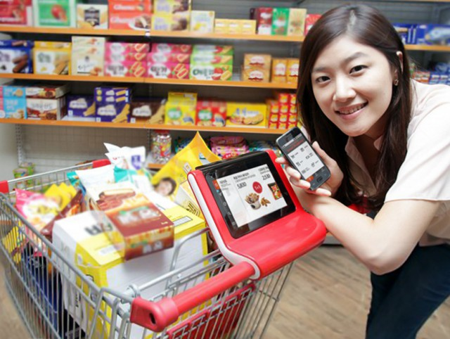 smartcart01-640x482 SmartCart marries shopping cart with tablet for enhanced shopping experience