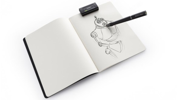 xlarge_inkling-with-sketchbook Wacom Inkling stores digital sketches with full layers
