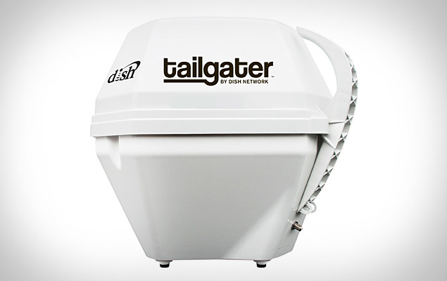 dish-network-tailgater  Dish Network Tailgater offers portable HD satellite from the back of your truck