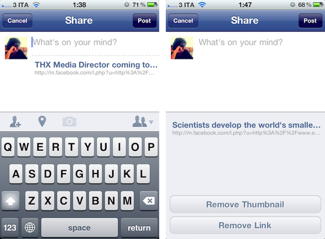 facebook31 Version 3.5 of Facebook for iPhone includes tagging and photo uploads
