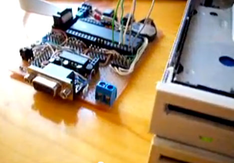 starwars-imperialmarch Hacked floppy drives repurposed to play Star Wars Imperial March