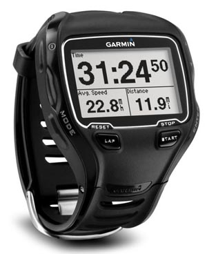 111004-garmin Waterproof Garmin ForeRunner 910XT GPS watch tracks your workout