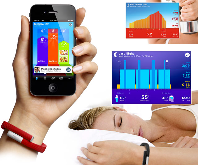 jawboneup Jawbone Unveils Fitness Wristband That Tracks Your Every Move