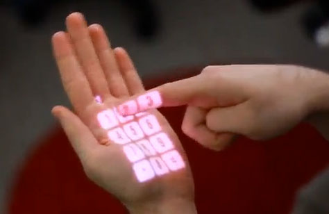 surface-touch CMU Device Transforms Any Surface To Touch Sensitive Virtual Display