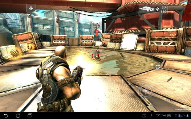 game-shadowgun Tegra 3 Eee Pad Transformer Prime Uses Xbox 360 Controller