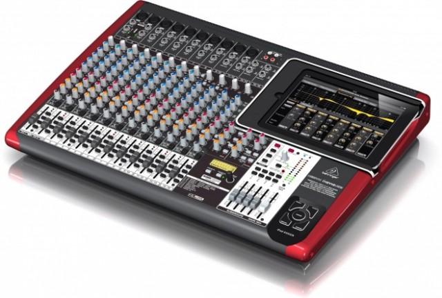 mixer-640x432 Behringer Unveils New iPad-Based iX Mixer Series
