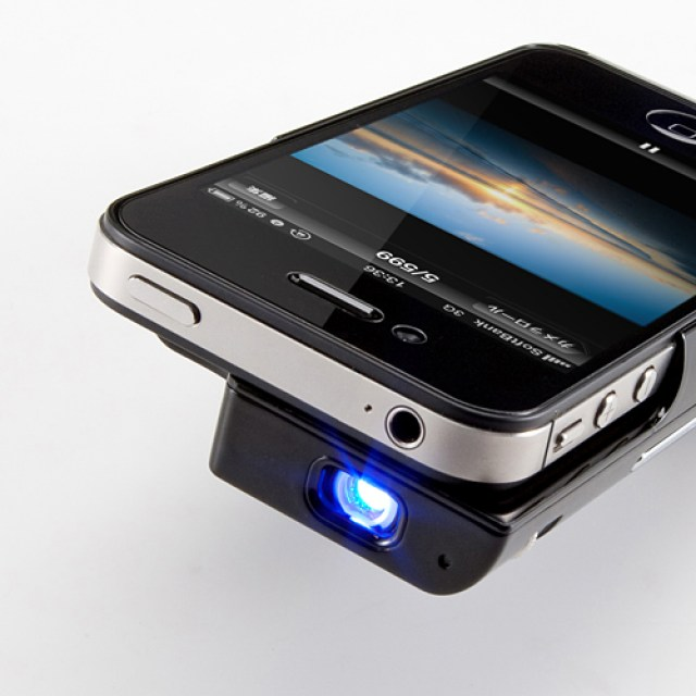 pro1 The iPhone 4 Pocket Projector Accessory