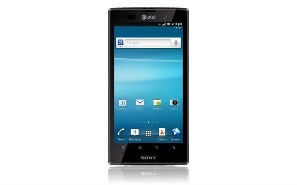 sony-xperia-ion1 Sony Xperia Smartphones From CES 2012 (Hands-On Videos)