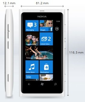 lumwhite White Nokia Lumia 800 Officially Announced