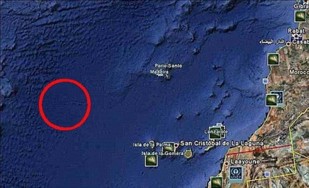 moroccoarea Atlantis Disappears Again! Google Removes 'Image Of Lost City' In Its 3D Ocean Upgrade