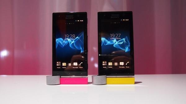 sony-xperia-u MWC 2012: Sony Xperia P And Xperia U Hands-On (Video)