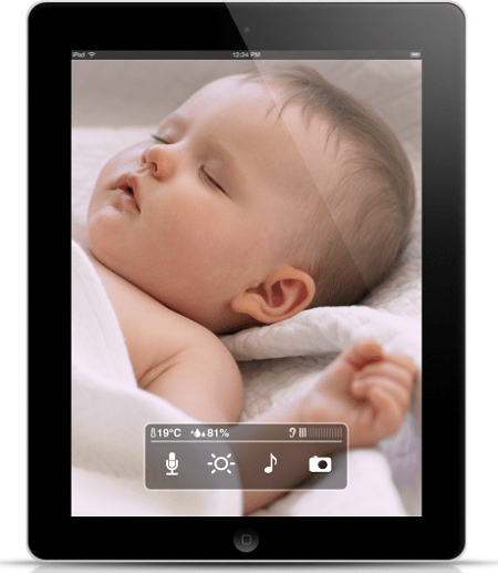 baby-monitor-iPad-iPhone-iPod-touch1 Smart Baby Monitor For iPhone, iPad And iPod touch Users (Video)