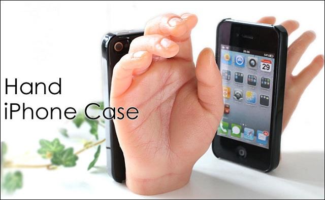 hand-iphone-case The Weirdest iPhone Case Ever