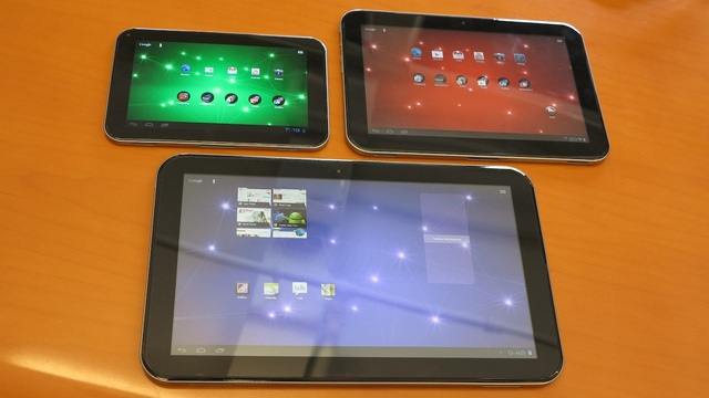 toshiba-excite-tablets1 Toshiba's 13-Inch Excite Tablet Is Not That Exciting