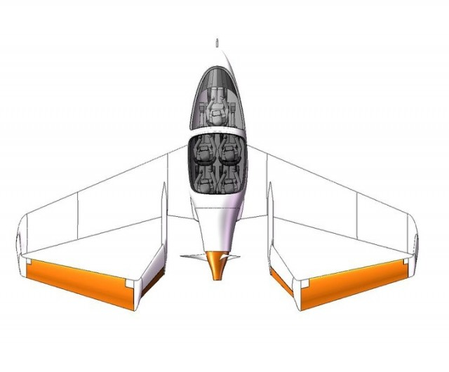 120524-synergy1-640x530 Drag-Reducing Synergy Personal Airplane Is Cheaper and More Comfortable