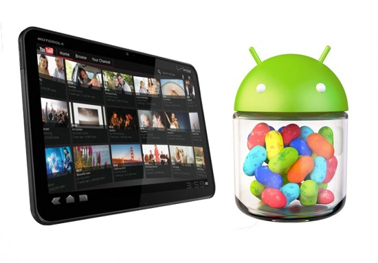 jellyxoom Pre-Release Version Of Jelly Bean Hits Motorola Xoom WIFI