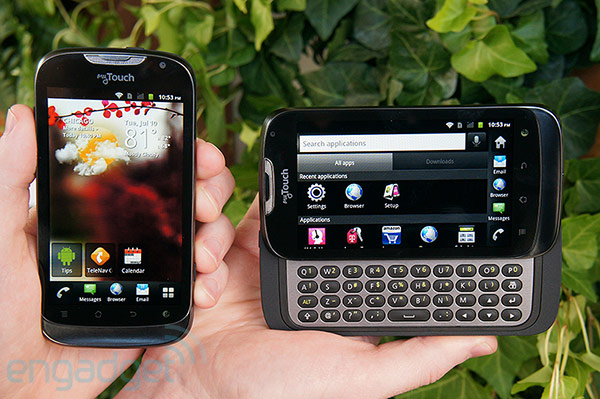 ttouch T-Mobile myTouch and myTouch Q Arrive August 8th