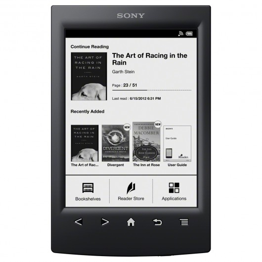ereaderson New Sony E-Reader Adds Facebook Social Features and Much More