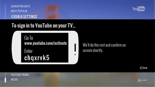 y2 Sony Playstation's Youtube App now allows you to control it with your Smartphone