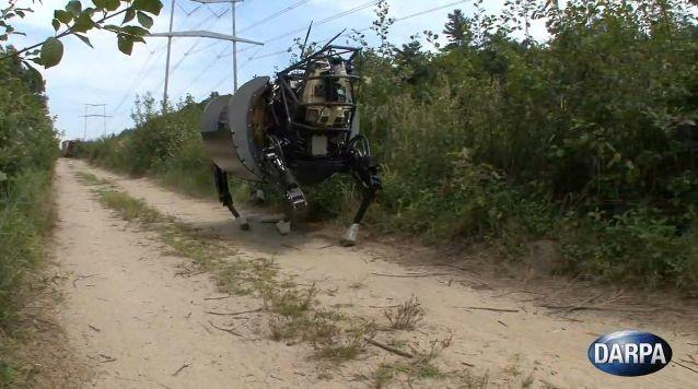 "120912-darpa Video: DARPA Upgrades ""Big Dog"" LS3 Four-Legged Robots"