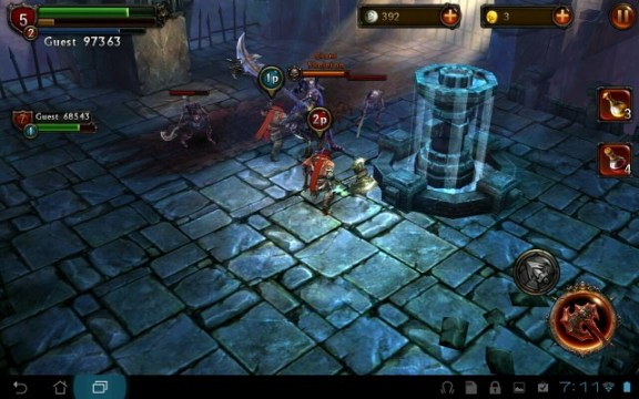1p-and-2p-640x400 App Review: Eternity Warriors on Android