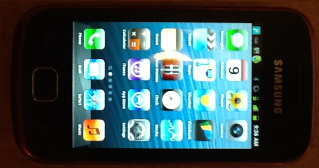 iSAM iPhone 5 Launcher released for Android